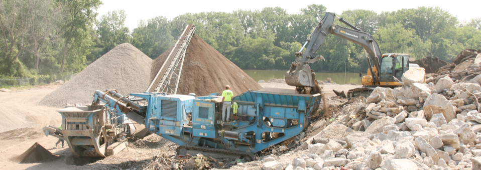 Crushing/Recycling